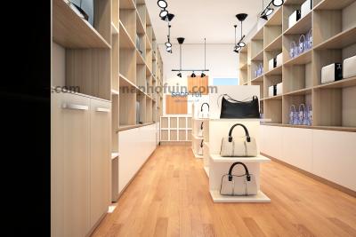 thiết kế shop túi 121 – tôn đức thắng