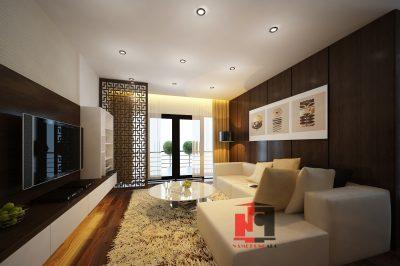 Mẫu thiết kế nội thất căn hộ chung cư Gemek Premium