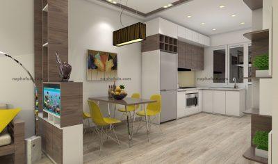 thiết kế nội thất căn hộ 65m2 – hh2 linh đàm