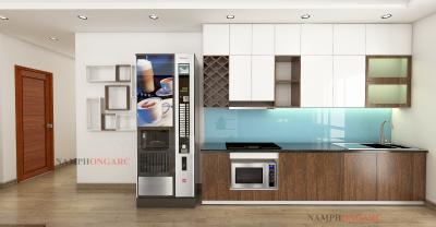 thiết kế và báo giá nội thất căn hộ 82,25 m2 hh2 linh đàm