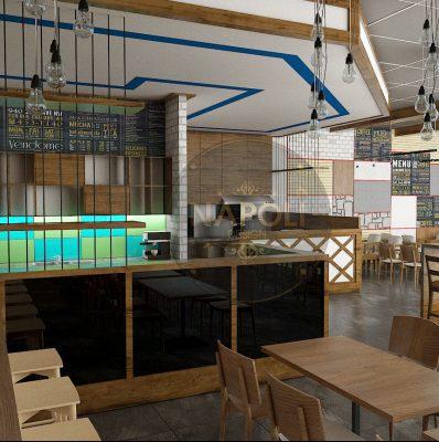 thiết kế quán cafe ăn sáng phong cách sáng tạo tại thái bình