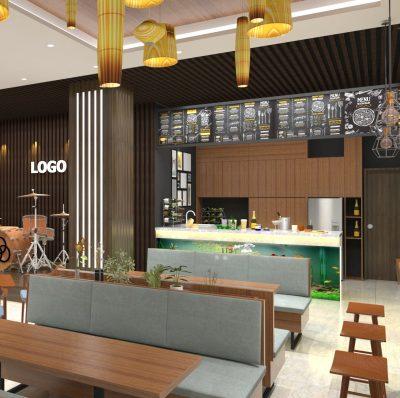 thiết kế quán cafe nhà hàng khách san đẹp sơn la