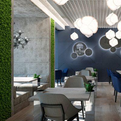 mẫu thiết kế caffee + ẩm thực 2019