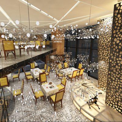 Thiết kế thi công quán cafe ăn sáng đẹp sáng tạo