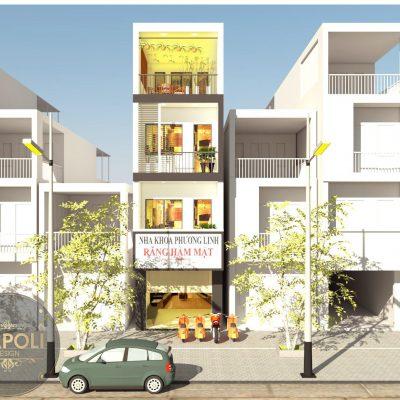 Thiết kế + Thi công nhà phố ở Sơn Tây
