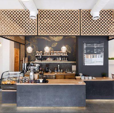 thiết kế thi công quán caffee trà sữa tại bắc ninh