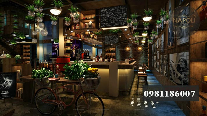 mẫu quán cafe đẹp