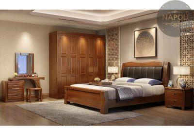 Tủ quần áo gỗ tự nhiên đẹp