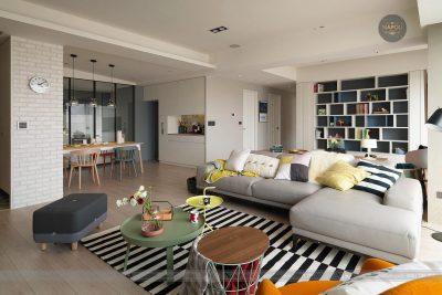 Thiết kế nội thất căn hộ A2 67.5m2 Hateco Apollo Nam Từ Liêm