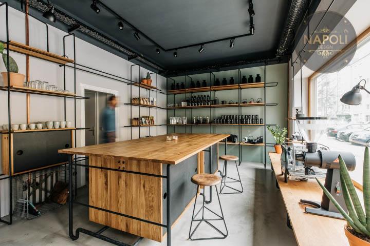mẫu quán cafe đơn giản độc đáo mới lạ