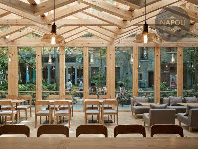 mẫu thiết kế quán cafe + nhà hàng p4