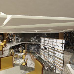 thiết kế cải tạo quán cafe 2 tầng đẹp sáng tạo