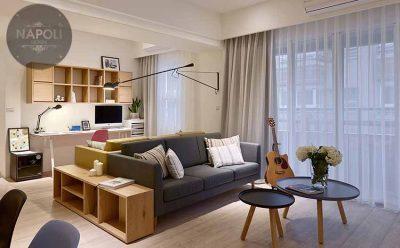 Thiết kế nội thất căn hộ 56.8m2 Mipec City View Kiến Hưng Hà Đông