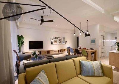 Thiết kế nội thất căn hộ 62.4m2 Lucky House Kiến Hưng Hà Đông