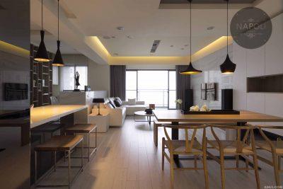 Thiết kế nội thất căn hộ 57.2m2 Mipec City View Kiến Hưng Hà Đông