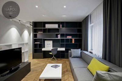 Thiết kế nội thất căn hộ 59.3m2 Mipec City View Kiến Hưng Hà Đông