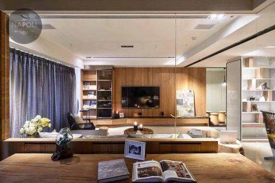 Thiết kế nội thất căn hộ 59.8m2 Mipec City View Kiến Hưng Hà Đông