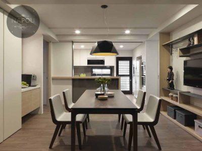 Thiết kế nội thất căn hộ 61.5m2 Mipec City View Kiến Hưng Hà Đông