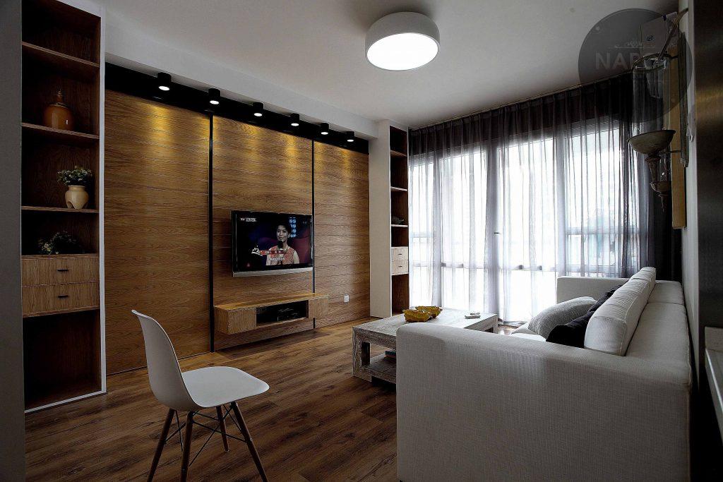 Thiết kế nội thất căn hộ 66.3m2 Mipec City View Kiến Hưng Hà Đông