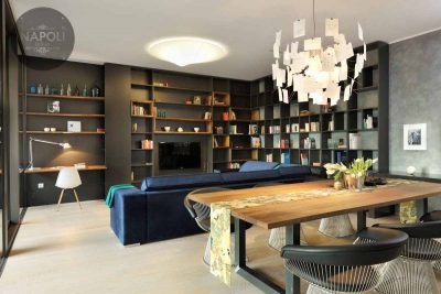 Thiết kế nội thất căn hộ 69.5m2 Mipec City View Kiến Hưng Hà Đông