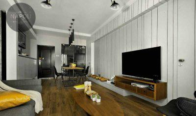 Thiết kế nội thất căn hộ 77.9m2 Mipec City View Kiến Hưng Hà Đông