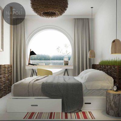 Thiết kế nội thất căn hộ B2 63.8m2 Hateco Apollo Nam Từ Liêm