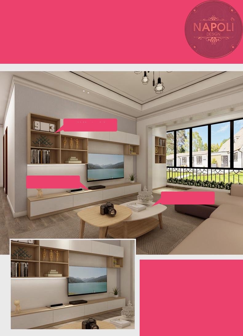 ý tưởng thiết kế căn 2 ngủ view 4