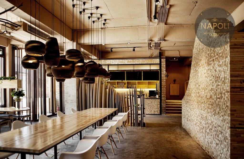 Thiết kế quán cafe + nhà hàng +  trà sữa đẹp p3