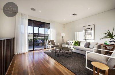 Mẫu thiết kế nội thất căn hộ 40m2 Lucky House Kiến Hưng