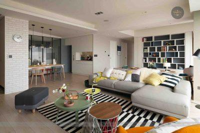 Mẫu thiết kế nội thất căn hộ A1 58m2 Hateco Apolo