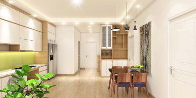 Nội thất căn 22-82.07 m2 chung cư b2.1 hh02 thanh hà