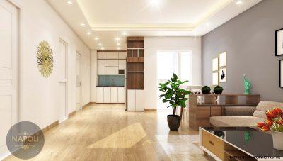 Nội thất căn 30-73.81 m2 chung cư b2.1 hh02 thanh hà