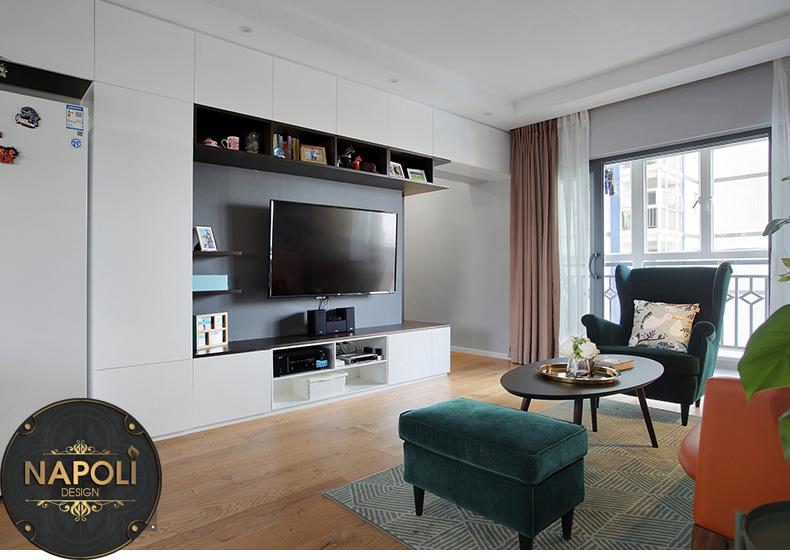 báo giá thiết kế nội thất căn 2 phòng ngủ vinhome smart city Tây Mỗ