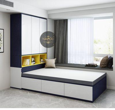 Combo giường tủ phong cách hiện đại p1