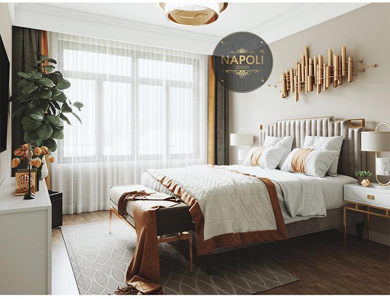 Nội thất căn 3 phòng ngủ Vinhome Smart City Tây Mỗ