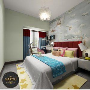 Thi công trọn bộ nội thất phòng ngủ chỉ với 20 triệu tại Vinhomesmart city Tây Mỗ Hà Nội
