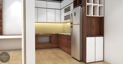 Nội thất căn 32-69.48 m2 chung cư b1.4 hh01c thanh hà
