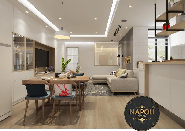 Thiết kế tham khảo căn 2 ngủ Vinhome Smart City Tây Mỗ