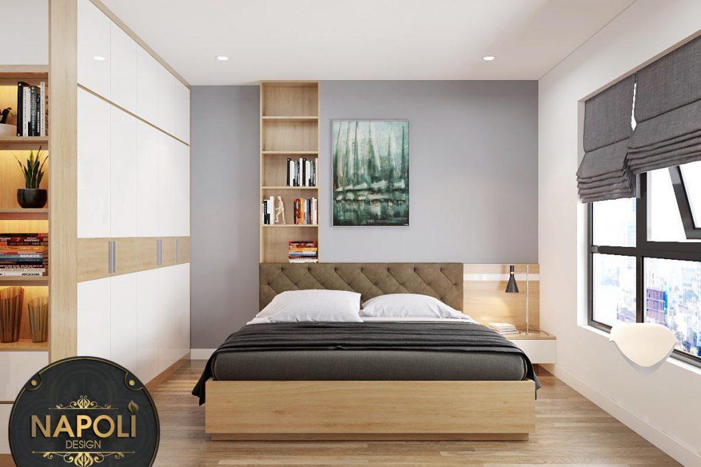 Phòng ngủ 2 Vinhomes Smart City