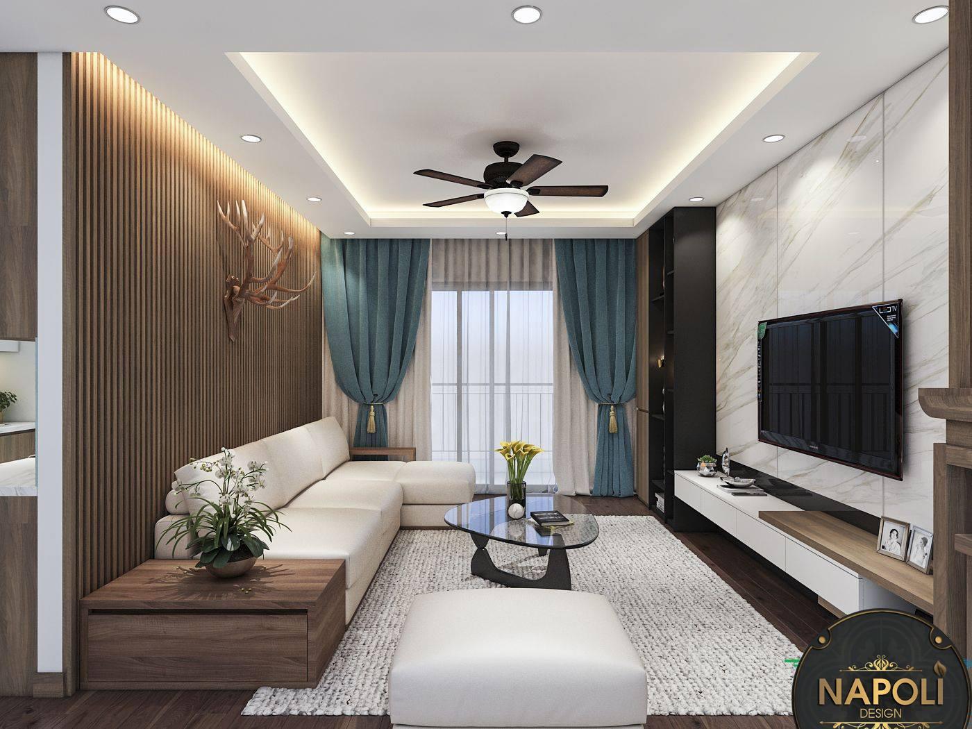 Phòng khách Vinhomes Smart City